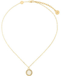 Marc Jacobs Logo Charm Necklace