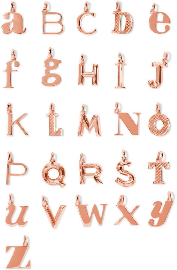 Monica vinader monica vinader a z alphabet letter rose gold plated monica vinader monica vinader a z alphabet letter rose gold plated pendants aloadofball Gallery