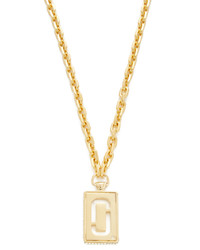 Marc Jacobs Respect J Marc Pendant Necklace