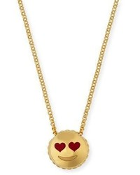 Roberto Coin Tiny Treasures Love Emoji Pendant Necklace