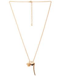 Forever 21 Trinkets Locket Necklace