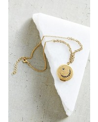 Urban Outfitters Traveling Layer Locket Necklace