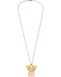 Johanna Ortiz Vida Lee Gold Tone Necklace