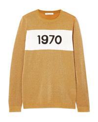 Bella Freud 1970 Metallic Knitted Sweater