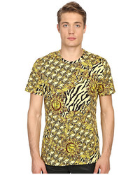 Versace Jeans All Over Baroque Tiger Print T Shirt