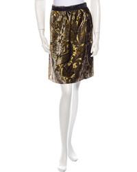 Velvet skirt medium 215214