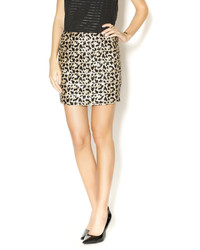 Fitted sequin skirt medium 136759