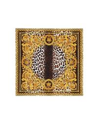 Versace First Line Wild Baroque Silk Scarf