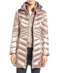 Gold Puffer Coat