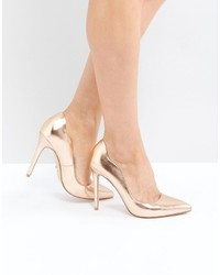 Faith Rose Gold Pumps