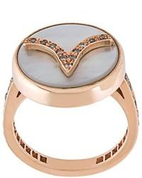 Carolina Bucci Aries Lucky Zodiac Diamond Ring