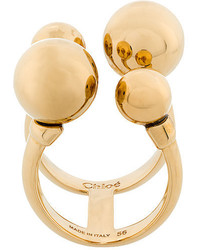 Chloé Bauble Cuff Ring
