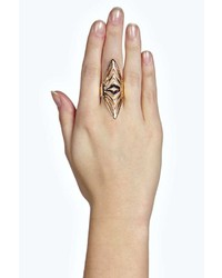 Boohoo Cara Armour Statet Ring