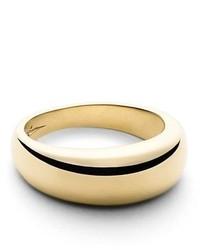 Shinola Crescent Dome Ring