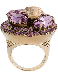 Versace Crystal Medusa Ring