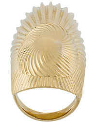 Wouters & Hendrix Curiosities Folded Leaf Ring