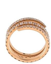 Diamond coil ring medium 830744