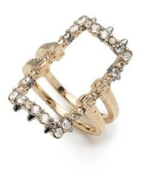 Elets crystal encrusted ring medium 4951553