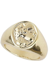 Topshop Freedom Found Engraved Pinky Ring