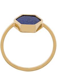 Isabel Marant Hexagon Stone Ring
