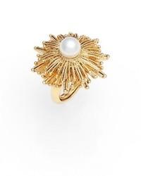 Oscar de la Renta Imitation Pearl Ring