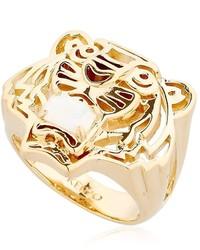 Kenzo Tiger Logo Ring