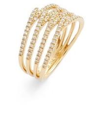 Bony Levy Kiera Four Row Diamond Ring
