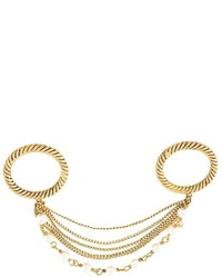 Marc Jacobs Strand Link Double Ring