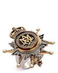 Alexander McQueen Medallion Ring