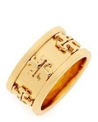 Tory Burch Raised Logo Ring