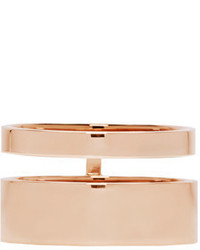 Repossi Rose Gold Double Band Berbere Ring