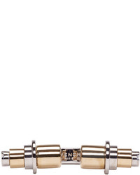 Givenchy Silver Gold Open Obsedia Ring