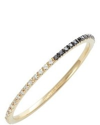 Ef Collection Two Tone Diamond Eternity Ring