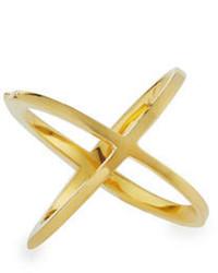 Elizabeth and James Windrose Orbital Ring Gold