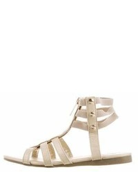 MICHAEL Michael Kors Michl Michl Kors Girls Metallic Gladiator Sandals