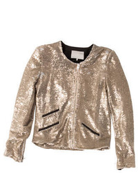 Sequin jacket medium 379105