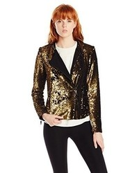 Rachel Zoe Clancy Sequin Moto Jacket