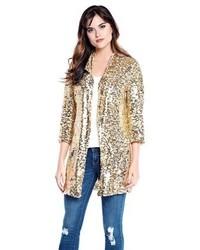 Donna Salyers Fabulous Furs Sequin Blazer