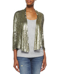 Drapey sequined blazer medium 296820