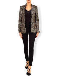 Monsoon joss sequin jacket medium 874555