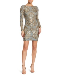 Dress the Population Lola Sequin Body Con Dress