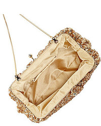 Badgley Mischka Belle Savannah Sequined Pouch