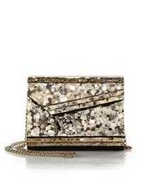 Jimmy Choo Candy Sequined Acrylic Clutch