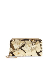 Jimmy Choo Eclipse Floral Embellished Clutch