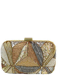 Micky London Sequined Minaudiere