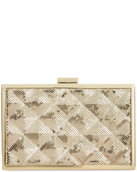 INC International Concepts Quilted Minaudiere