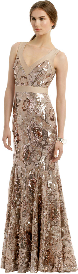 Badgley Mischka Glisten Up Gown  Where to buy &amp how to wear