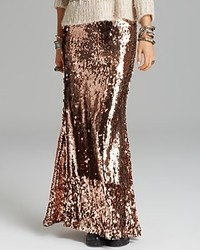 Free People Maxi Skirt Sequins For Miles