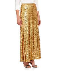 Sequined maxi skirt medium 108296