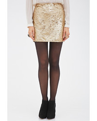 Forever 21 Contemporary Sequined Bodycon Skirt | Where to buy ...
